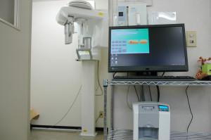 東松山市の歯科医院清水デンタルクリニックのレントゲン装置