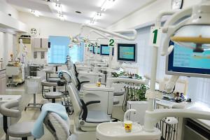 東松山市の歯科医院清水デンタルクリニックの診察室